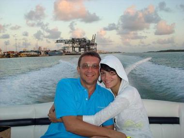 Слава с мужем Анатолием