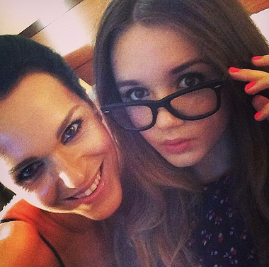 Певица Слава показала красавицу дочь